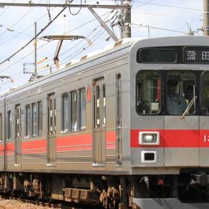 東急池上・多摩川線1000系(1021F)