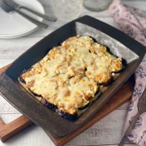*簡単!ナスのツナマヨグラタン&豆のサラダ。  *まん防が明けます。