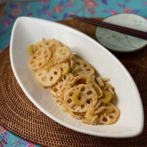 *シャキシャキ&さっぱり♪ れんこんとセロリの中華サラダ。世界のスパイスごはん<さっぱり・さわやか編> *三浦ハイキング。自然の中のアート。