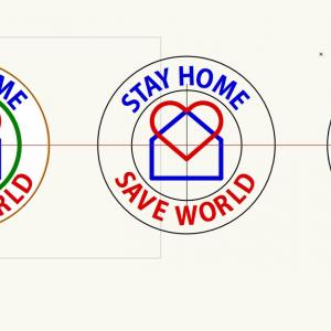 STAY HOME  SAVE WORLD-2
