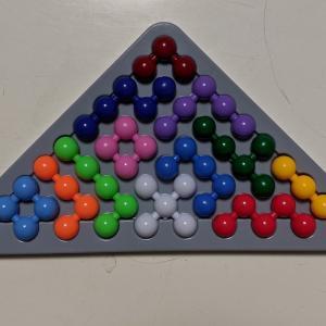 引き続きIQパズルバブル 回答例追加13パターン(合計60)と立体完成w