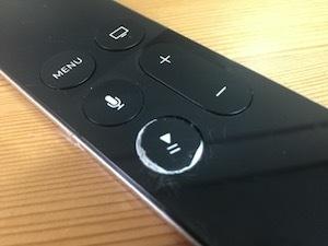 Siri RemoteとAppleTV