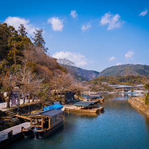 京都嵐山 -水辺の風景-