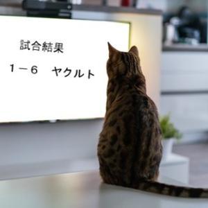 阪神 1-6 ヤクルト