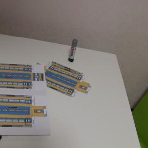 近鉄特急16000系のペーパークラフトを作った youfujikawa2002