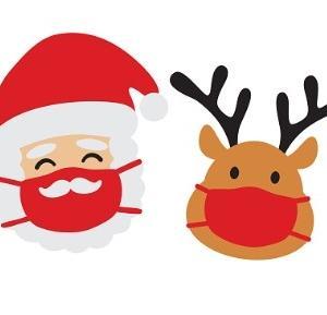 サンタクロースを迎える準備完了!
