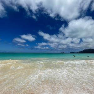 突然の祝日はビーチ日和!