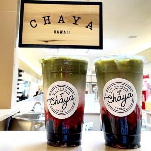 抹茶が美味しい「CHAYA HAWAII」で家族団らんのはずが・・・。