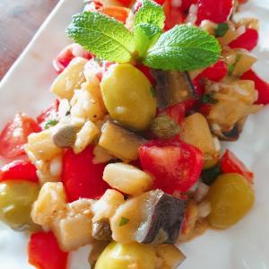 ギリシャのサラダ