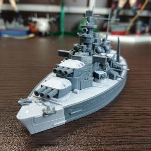 MENG-MODEL 造艦師 シャルンホルスト 素組フィニッシュ