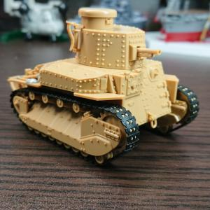 ピットロード 八九式中戦車甲型 ガールズ&パンツァー エンディングVer.プラモデル 素組フィニ
