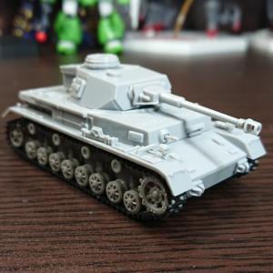 ハセガワ 1/72 Ⅳ号戦車G型 素組フィニッシュ