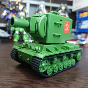 EBBRO ソ連 KV-2 ギガント 素組フィニッシュ