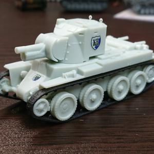 プラッツ 1/72 継続高校 BT-42突撃砲 素組フィニッシュ