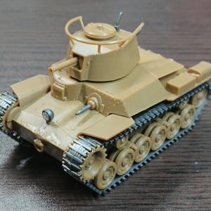 フジミ ちび丸ミリタリー 九七式中戦車チハ 素組フィニッシュ