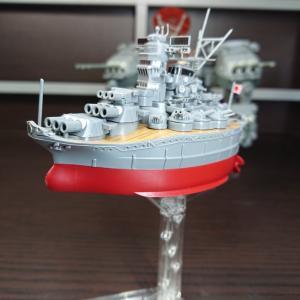 フジミ ちび丸艦隊 大和 素組フィニッシュ