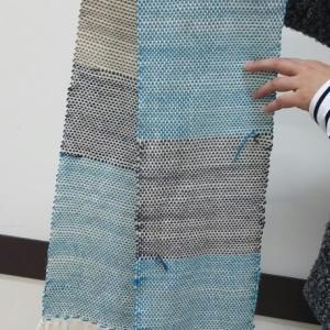色が選べるのって嬉しいです♪~マフラー織り体験の感想