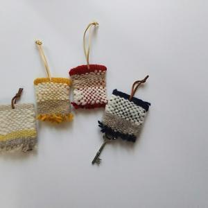 練習で紡いだ手紡ぎ糸で何作りますか?