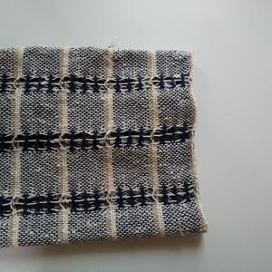 織りはアイデア次第♪自分好みの布が出来上がります!