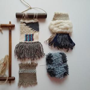 フワフワのコースター、織ってみませんか?