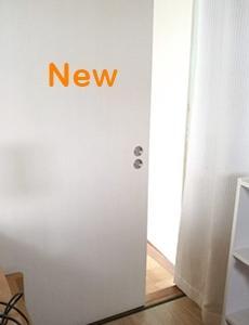 築40年越えの和室の砂壁を白レンガ壁へリフォームしてみたよ