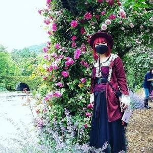 誕生日旅行2日目。軽井沢レイクガーデンの春薔薇♪