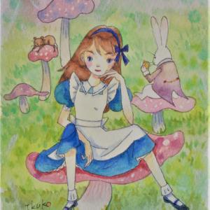 アリス☆キノコに座って一休み
