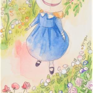 「秘密の花園」☆メアリーお嬢様とお花