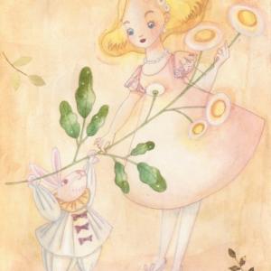 ウサギさんとデイジーちゃん☆