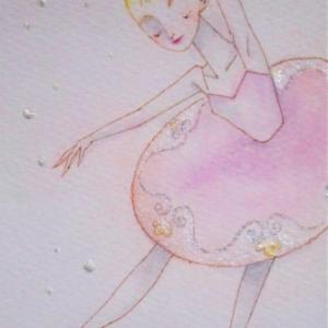 バレエ少女☆ピンクのチュチュ