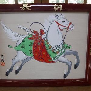 誕生絵馬の奉納奉告祭
