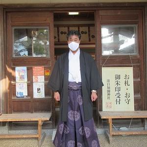 白山麓の神社は金沢より気温が5度違いました