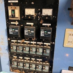 電気工事は時間をかけて・・・