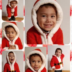 クリスマス衣装とリンツ缶