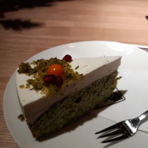 ほうれん草のケーキと日本語授業