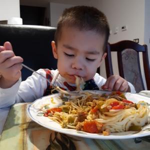 スパゲッティと特殊能力
