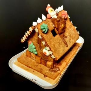 お菓子の家 完成