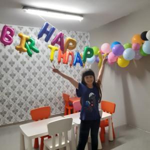 ユリ10歳の誕生日