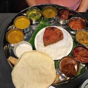 インド料理「ターリー」@ Zaitun Multi Cuisine Restaurant