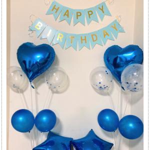 【コロナ禍】おうちで夫の誕生日祝い