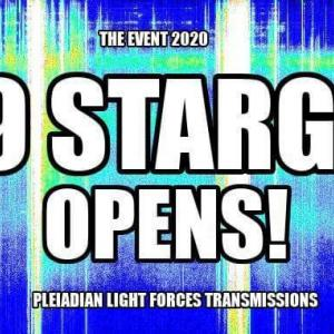 THE EVENT2020- THE 9/9 CELESTIAL STARGATE OPENS