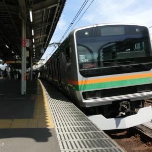 続・都内と横浜と─JR東十条駅にて(H30.04)
