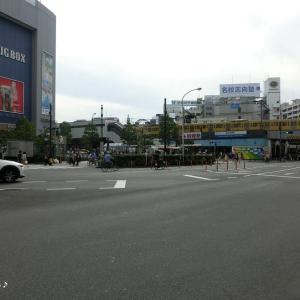 その10・都内と横浜と─ちょっぴり西武鉄道 高田馬場駅。