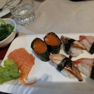 食べ放題:寿司&日本食♪+伊ケメンホールスタッフの接客レビュー☆☆@Le Officine Savona