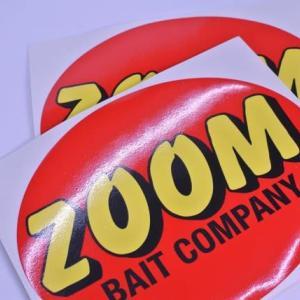 ZOOM ズームデカール(ステッカー)S 約13cm 2枚セット