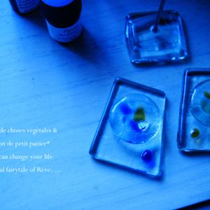 ボトルリサイクルとガラス細工。