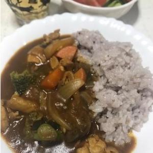 16穀米カレー