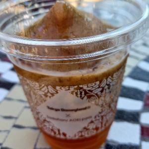 サダハルアオキコラボの紅茶スムージー