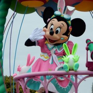 ディズニー・イースターのミニーマウス