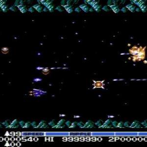 沙羅曼蛇(FC版)&LifeForce(NES版)♯2 それぞれ1000万点まで再走しました